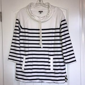Talbots Cowl Neck Pullover Shirt